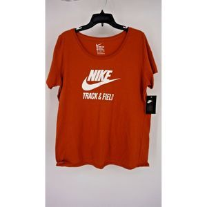 New Nike Tee T-Shirt Short Sleeve Track & Field